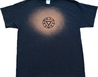 Iron Man Bleached T-shirt