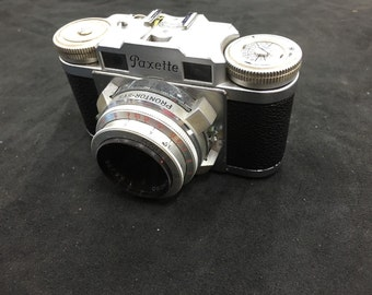 Paxette Camera with leather case