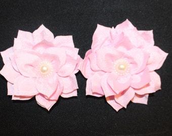 Pearl Lotus Barefoot Sandal Set (Lt. Pink)