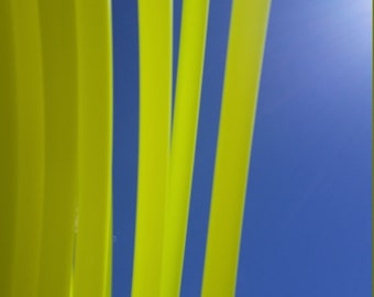 3/4 Polypro: UV Yellow Hoop- Made to Order