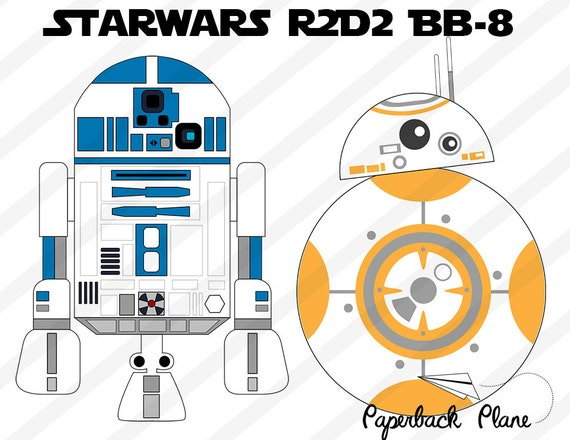 star wars robot r2d2 bb 8 svg png cut files for use with. Black Bedroom Furniture Sets. Home Design Ideas