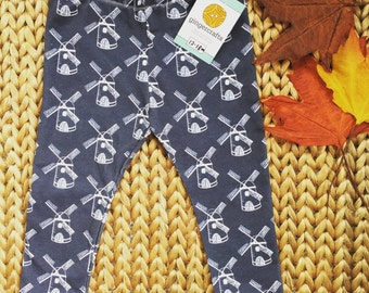 Organic Cotton Dutch Windmill (baby) Leggings