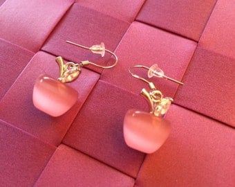 Apple earrings Blanche Neige - Snow White - Once upon a time