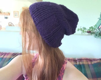 Slouchy Knitted Hat