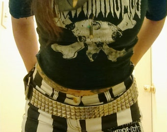 Crust Punk Crass Shorts