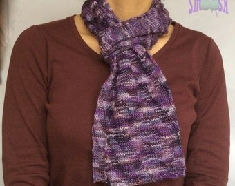 Scarf: Berry Ripple