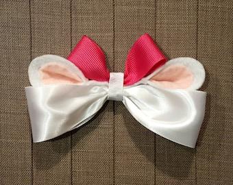 Disney Inspired Marie Cat Hair Bow