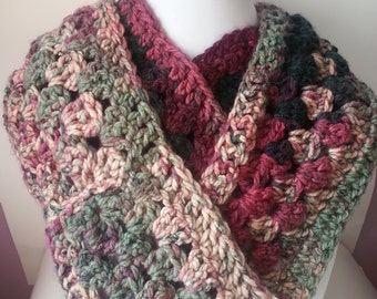 Circular scarf - Infinity scarf - round scarf