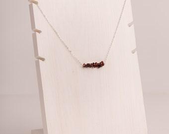 Tourmaline Line Necklace