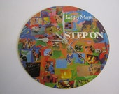 "Happy Mondays - ""Step On"" Record Sleeve Wall Clock"