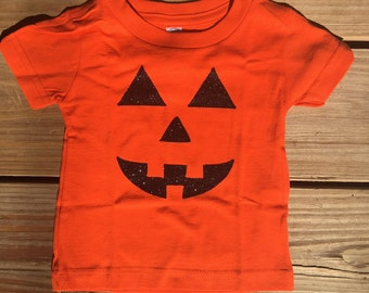 Pumkin Face toddler shirt