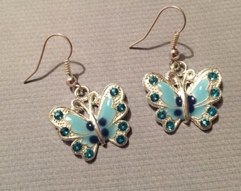 Butterfly Earrings (Choice of colours)