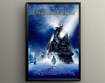 """The Polar Express Movie Poster Giclée Printed 5"""" x 7"""", 8"""" x 10"""",  18"""" x 24"""" or 24"""" x 36""""! Great Gift"""