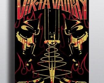 MF DOOM Viktor Vaughn Poster