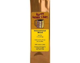 "New! "" Happy Father's Day"" Coffee Pack"