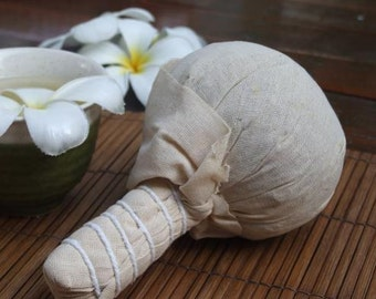 200 Grams Herbal Compress Ball Massage and Spa for Face & Body Relaxing Spa Aroma Herb