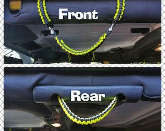 Jeep Paracord Roll Bar Grab Handles