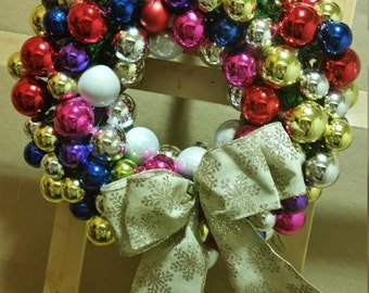 FREE DOMESTIC SHIPPING - Bubbles The Wreath