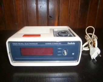 Radio alarm clock Vintage RADIOLA