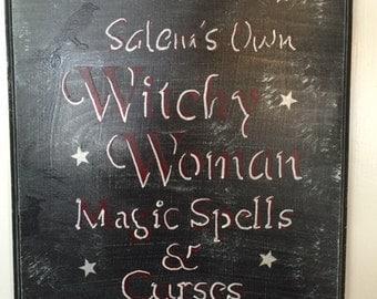 Salem's Own Witchy Woman