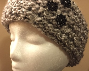 Ear Warmer Headband - Clouds