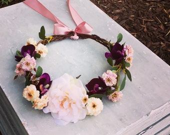 Custom Flower Crown