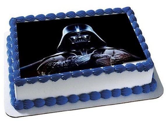Star Wars Kyloren Birthday Cake Toppers