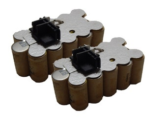 18 volt Black and Decker NiCd Battery Insert 2-Pack