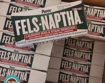 Fels-Naptha - Fels Naptha, Stain Remover Bar, Laundry Bar, Soap