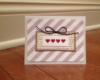 Anniversary Card, Birthday Card, Valentine's Day Card, Just Because Card, Love Card