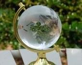Globe Vintage Globe Vintage Glass Globe Solid Glass Globe