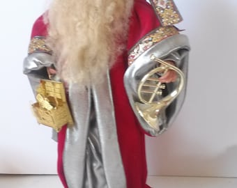 Vintage Old World Style Father Christmas