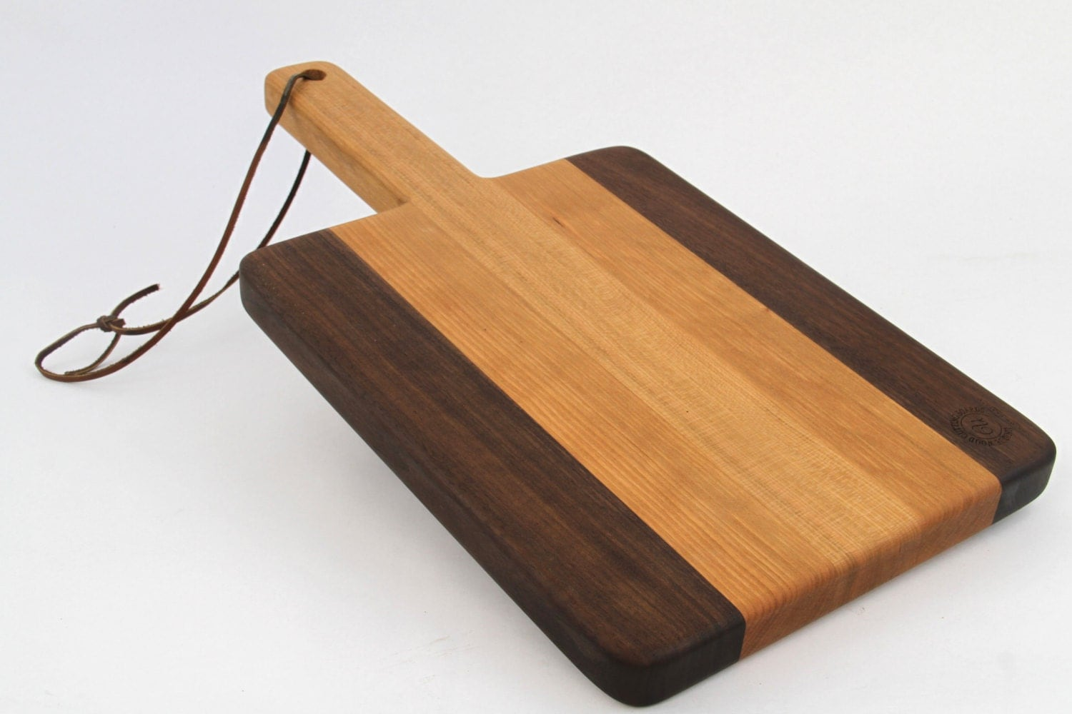 handcrafted wood cutting board  paddle board,cherry  laser, Kitchen design