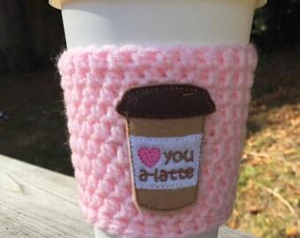Love You A Latte Cozy