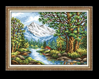 Gobelin  Kit FOREST 1:4 Petit point