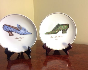 Two St. Martin Decorative Plates