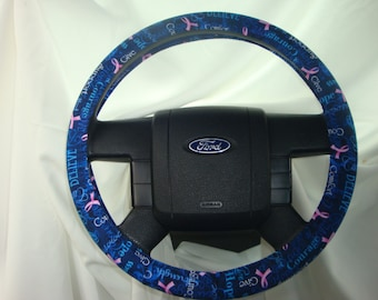 Steering- Wheel- Cover-100% Cotton.