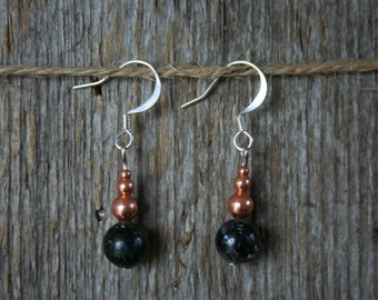 Earrings for Christmas jewelry Bohemian gift ideas