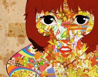 Paprika Anime Large A1 Poster