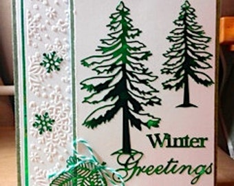 The Shimmer Winter Greeting Card