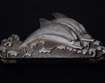 Art Deco dolphin Envelope holder