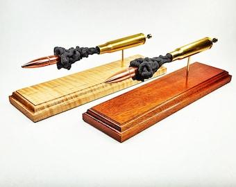 50BMG -- Handmade 3D expanded ammunition cartridge model teaching Aid desk display freedom art