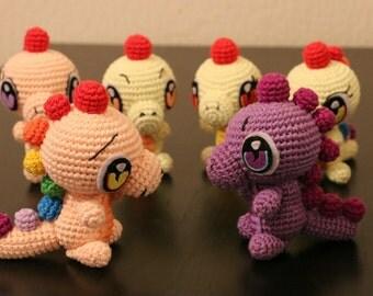 Amigurumis, cuddly, plush, dragon, animal