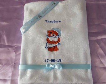 Baby Christening blankets and Christening keepsake cushions.