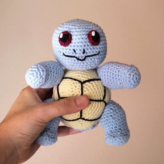 Squirtle - Pokemon. Amigurumi Pattern PDF.