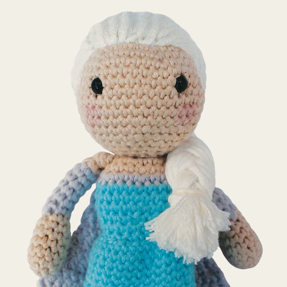 Crochet Elsa Amigurumi : Elsa Disney Princess. Amigurumi Pattern PDF DIY Crafts