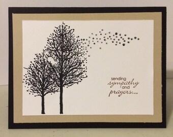 Handmade Birthday or sympathy card