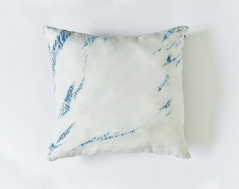 handmade natural dyed cotton cushion cover