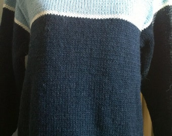 Hand-made wool sweater