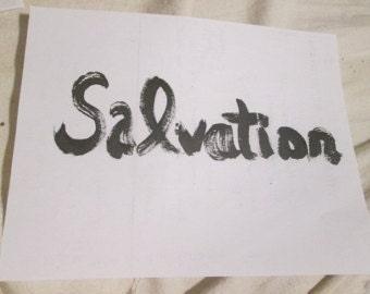 Postcard- Salvation